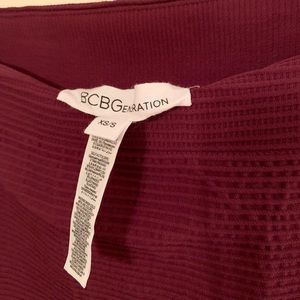 BCBGeneration Body Con Skirt w/Texture